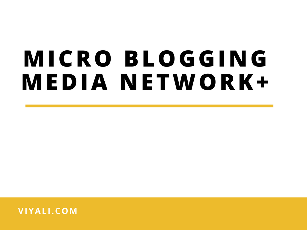 Micro Blogging Media Network