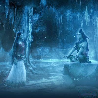 Shiva spouse with Goddess Parvati