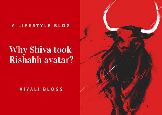 Shiva rishabh avatar [ Why shiva took rishabh avatar ]