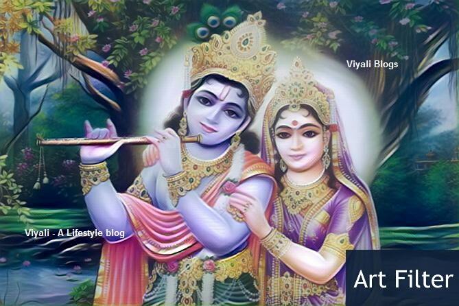 Lord krishna and lord shiva battle